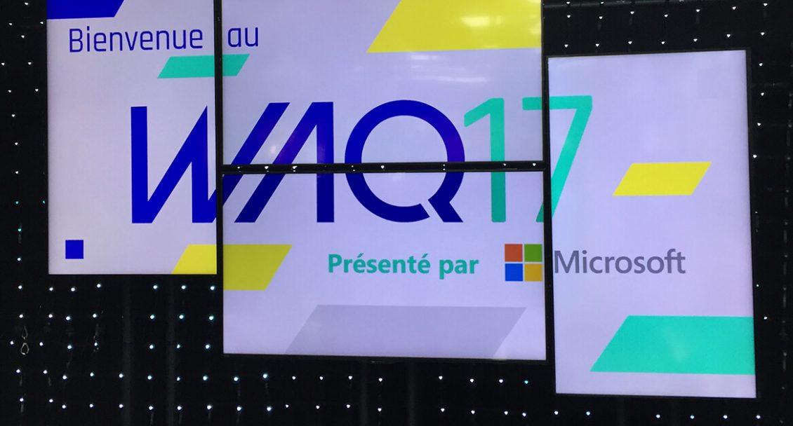 WAQ Web à Québec