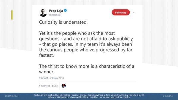 Curiosité en SEO technique