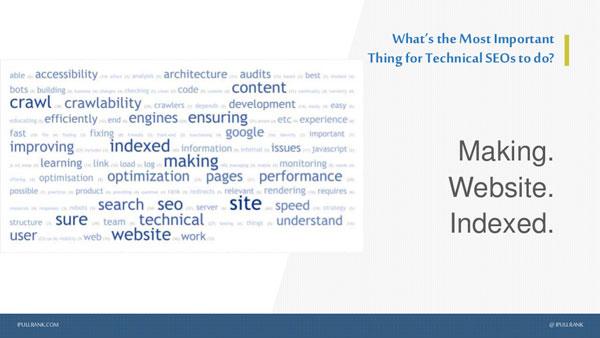Rentre un site web indexé avec le seo technique