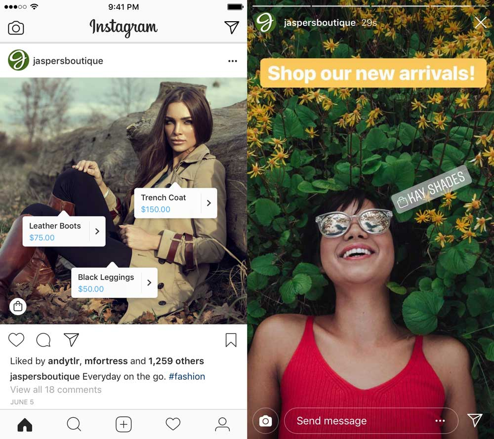 Comment utiliser Instagram Shopping
