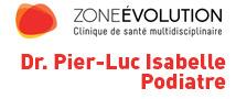 Podiatre Trois-Rivières Pier-Luc Isabelle