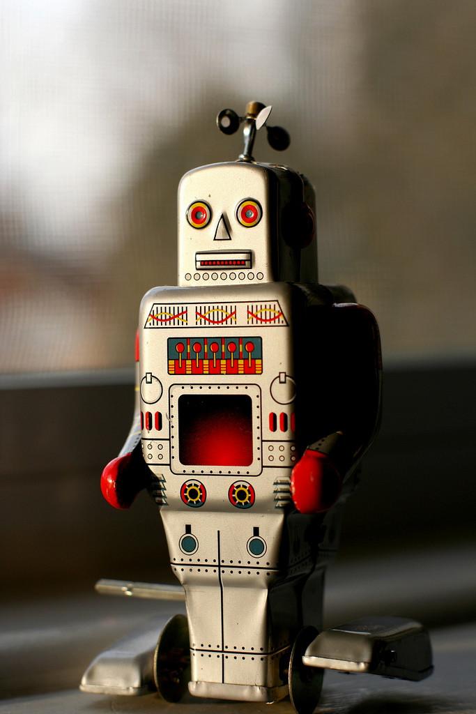 analyse de données avec robot