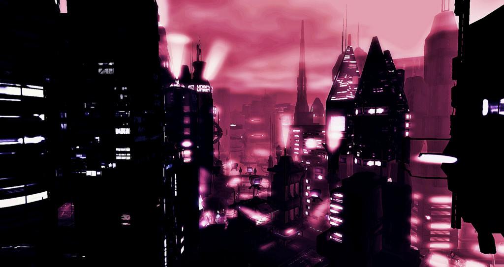 ville cyberpunk
