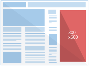 Exemple d'affichage 300x600