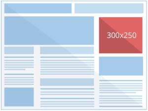 Exemple d'affichage 300x250