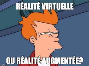 Réalité virtuelle ou réalité augmentée? Marketing immersif