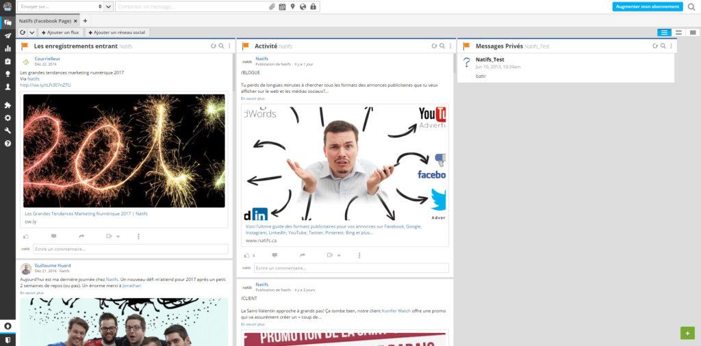 Screenshot de Hootsuite