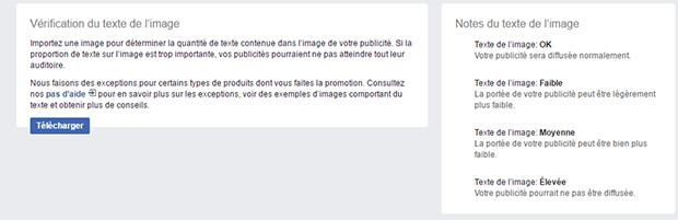 Screenshot de Facebook Text Overlay