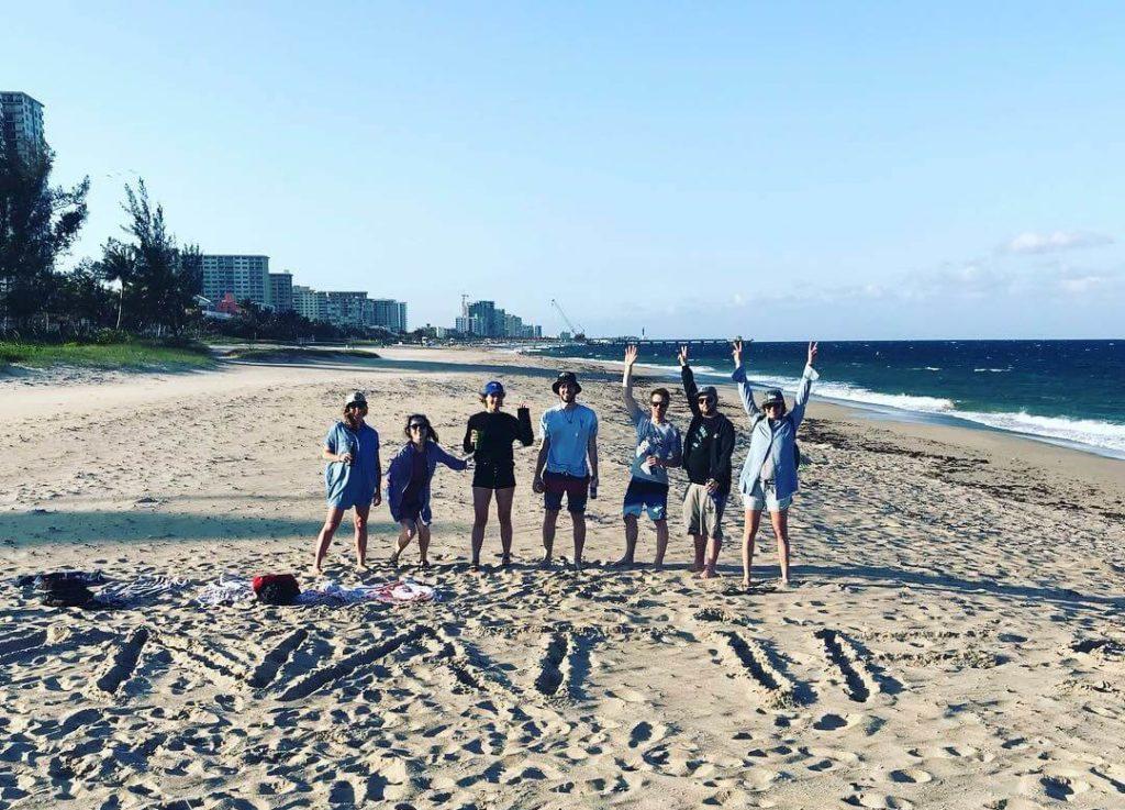 Journée à la plage pour les Natifs